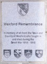 Wexford Great War Memorial