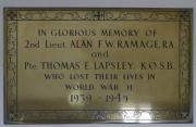 Ramage and Lapsley Memorial