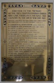 Kilbarron WW I Memorial