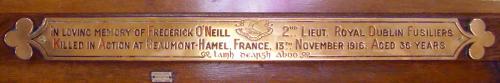 O'Neill Memorial