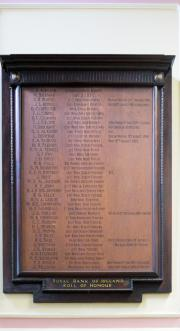 Royal Bank of Ireland Great War Memorial