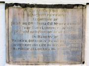 Patrick O'Mahony Memorial