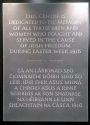 G.P.O. 1916 Memorial