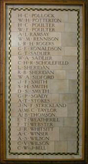 St. Andrew's War Memorial