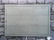 Screen wall memorial