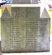Hibernian School Great War Memorial