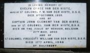 Van der Kiste Memorial