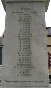 Kilkeel War Memorial