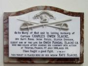 Slacke Memorial