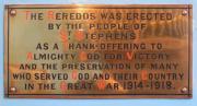 Great War Reredos