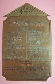 Adelaide Rd. Presb. Church Great War Memorial
