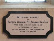 Hadoke Memorial