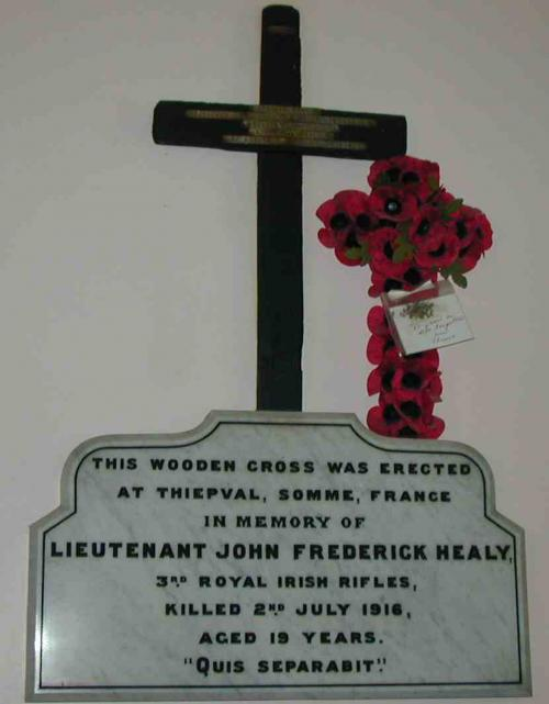 Healy Cross, S transept