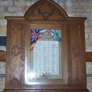 St.John Clontarf Roll of Honour