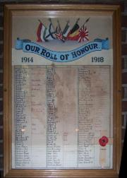 St. Thomas's Roll of Honour