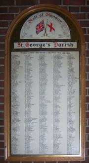 St. George's Church Roll of Honour