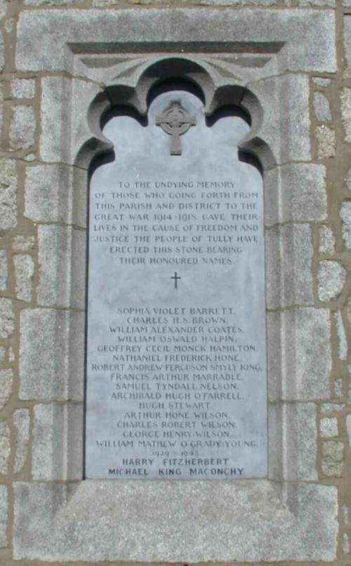Carrickmines, Tullow Church