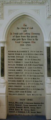 Dalkey War Memorial