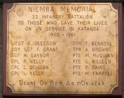 Niemba Memorial