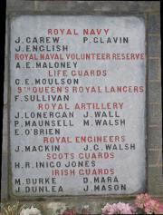 Cahir Great War Memorial