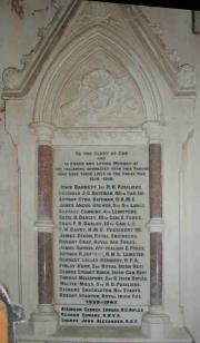 Mariners' Church War Memorial