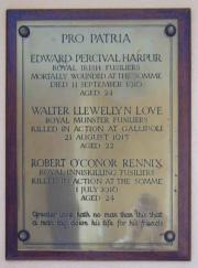 Dalkey Methodist War Memorial