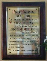 Dun Laoghaire Methodist Great War Memorial