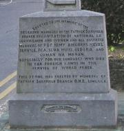 O. N. E. Memorial