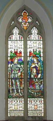Dun Laoghaire Presbyterian 1914-1918 window