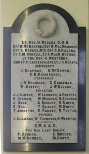 Monaghan St. Patrick's Great War Memorial