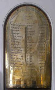 Sir Patrick Dun's Great War Memorial