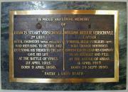 Verschoyle memorial