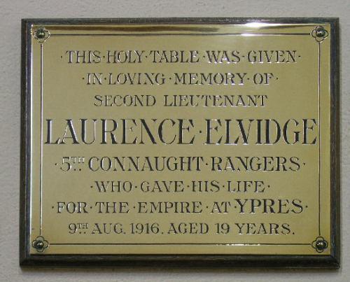 Elvidge Memorial